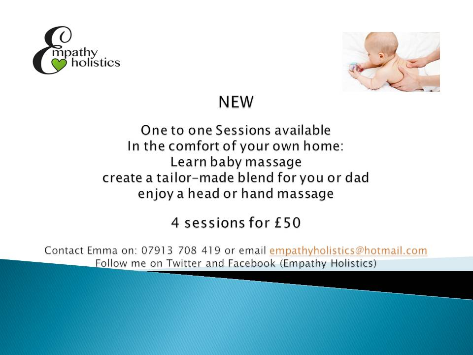 one to one baby massage